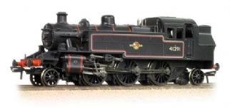 Bachmann 31-441DC Ivatt 2MT 2-6-2 Tank 41291 BR Lined Black LC (DCC-Fitted)